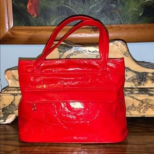 Beautiful red vintage purse like new casual Justin
